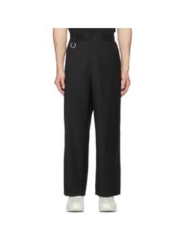 Black Wool Alpine Trousers by Études