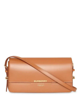 Mini Leather Grace Bag by Burberry
