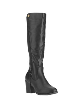 Forever Young Women's Elastic Back Seam Tall Boot by Forever Young
