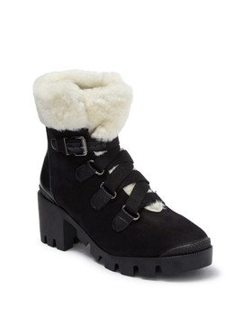 S Aretuza Faux Fur Work Boot by Schutz