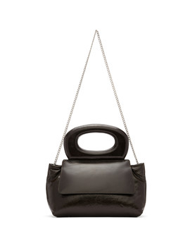 Brown Mini Cabas Bag by Lemaire