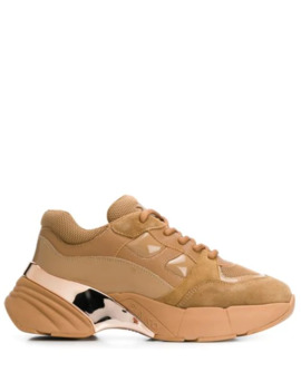 Chunky Sole Sneakers by Pinko