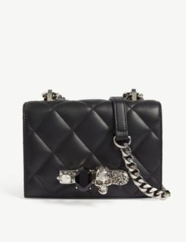 Leather Knuckler Small Shoulder Bag by Alexander Mcqueen