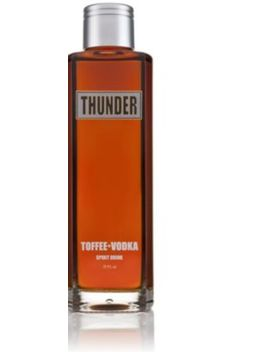 Thunder Toffee Vodka 700ml by Thunder