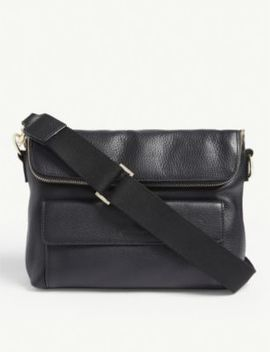 Vida Leather Cross Body Bag by Whistles