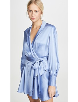 Super Eight Wrap Mini Dress by Zimmermann