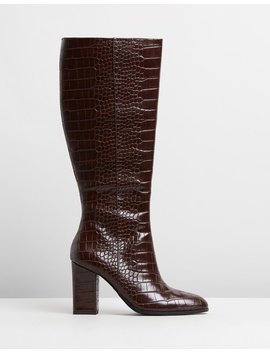 Croc Effect Boots by M.N.G