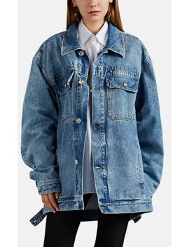Denim Oversized Jacket by Maison Margiela