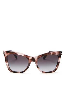 Rockstud Square Acetate Sunglasses by Valentino