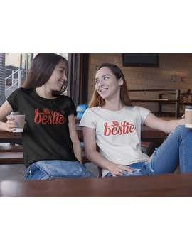 Bff Summer Vacation Tees, Bestie Shirts, Bestie Matching Tshirts, Best Friends Gift For Summer, Clothing Gift, Tees For Friends by Etsy