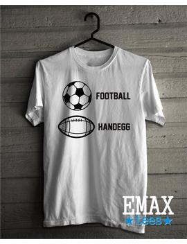 Football Shirt, Football Party Clothing, Gameday Graphic Tees, Funny Clothing Gift, Soccer T Shirt, Football T Shirt by Etsy