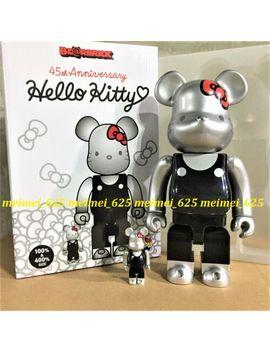 Bearbrick Medicom 2019 Sanrio 45th Ann. Hello Kitty 00's 100% & 400% Be@Rbrick by Medicom