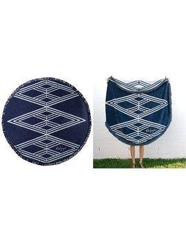<Div>The Santorini Roundie Towel</Div> by The Beach People