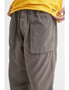 Uo Khaki Bellow Pocket Utility Trousers by Urban Outfitters