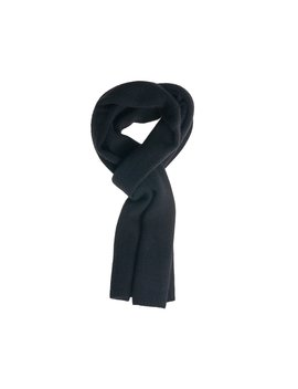 Cashmere Scarves   Black by Peter Manning