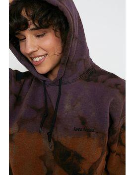Uo Winter Tie Dye Skate Hoodie by Urban Outfitters