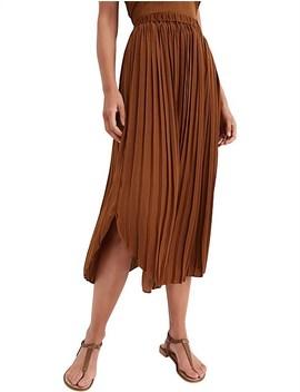 Spliced Midi Skirt by Witchery