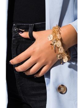 Charmed Layered Bracelet by Akira