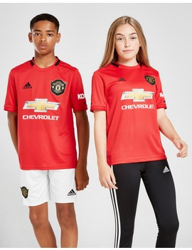 Adidas Manchester United 19/20 Home Shirt Junior by Adidas