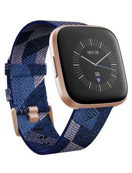 Fitbit Versa 2 Se Smart Watch   Copper Rose  / Navy Band202/9694 by Argos