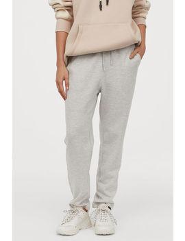 Свободен панталон от трико by H&M