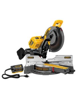Flexvolt 120 Volt Max Lithium Ion Cordless Brushless 12 In. Sliding Miter Saw With Ac Adapter (Tool Only) by Dewalt
