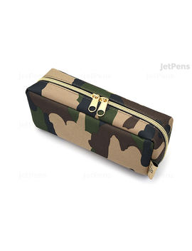 Kamio Japan Paco Tray Pen Case   Camouflage by Kamio
