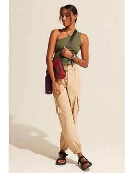 Uo Tan Seatbelt Utility Trousers by Urban Outfitters