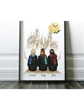 Best Friend Gift | Harry Potter Gift | Bestie Gift | Sister Gift | Best Friend Print | Mom Gift | Friend Gift | Harry Potter Poster by Etsy