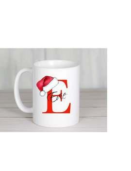 Personalised Christmas Mug, Personalised Teacher Mug, Friend Gift, Birthday Gift, Bridesmaids Gift, Secret Santa, Christmas Eve Mug by Etsy