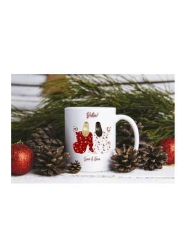 Personalised Friend Mug, Christmas Mug, Personalised Gift, Best Friends, Bridesmaid, Birthday Gift, Secret Santa by Etsy