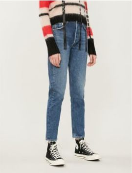 Jamie Straight Leg High Rise Jeans by Agolde