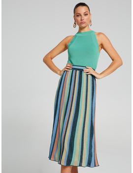 Athena Lurex Midi Skirt by Portmans