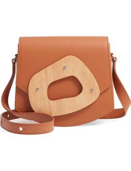 Le Mini Amorphe Leather Crossbody Bag by Perrin