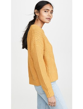 Acacia Cable Sweater by Madewell
