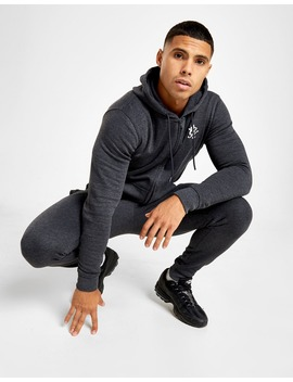 Gym King Zip Through Core Fleece Tracksuit by Jd Sports