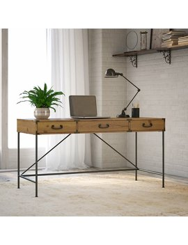 Ironworks Desk by Kathy Ireland Home By Bush Furniture