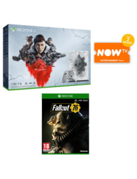 Xbox One X 1 Tb Gears 5 Limited Edition Bundle by Game