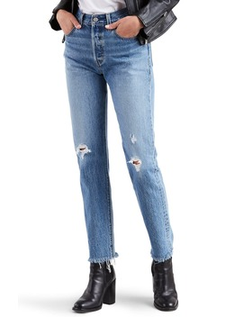 501® High Waist Ripped Fray Hem Skinny Jeans by Levi's®