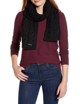 Cable Knit Scarf by Michael Michael Kors