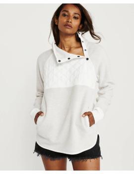 Fleece Style Mit Asymmetrischem Druckknopfverschluss by Abercrombie & Fitch