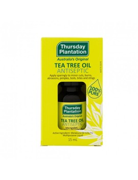100% Pure Tea Tree Oil 15 M L by Thursday Plantation