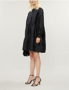 Margo Taffeta Mini Shirt Dress by Samsoe & Samsoe
