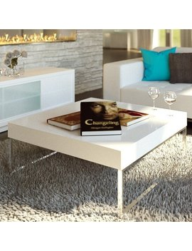 Living Coffee Table With Tray Top by Urban Mod