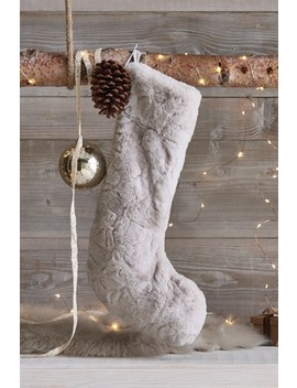 Faux Fur Stocking by Next