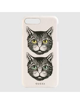 I Phone 8 Plus Case With Mystic Cat by Gucci