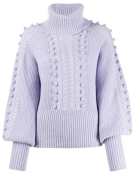 Chrissie Bobble Knit Sweater by Temperley London