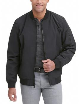 Cotton Bomber Jacket by Wilsons Leather