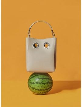 Light Gray Mini Nana Bag by Koimooi