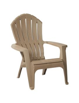 Real Comfort Mushroom Patio Adirondack Chair by Home Depot